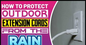 How to Protect Outdoor Extension Cords from the Rain