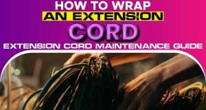 How to Wrap an Extension Cord.