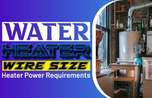Water Heater Wire Size