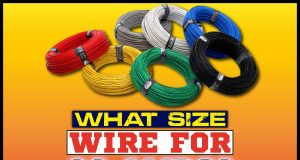 What Size Wire For 60 Amps