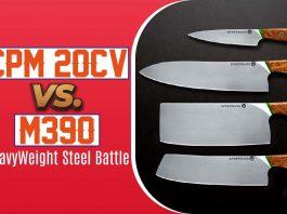 CPM 20CV vs. M390