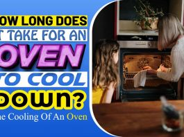 How Long Does It Take For An Oven To Cool Down