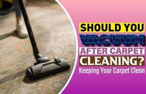 Should You Vacuum After Carpet Cleaning